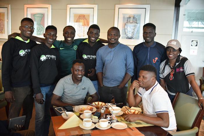Olorunsheyi & Mentees in Dubai 2019
