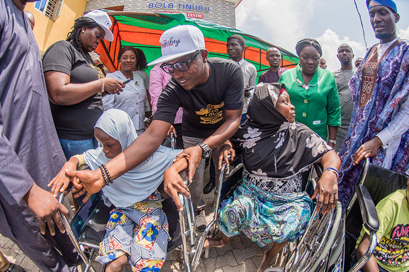 The Olorunsheyi Foundation Donates Wheel Chairs