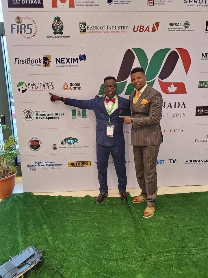 Olorunsheyi at the Canada investment Summit in Abuja